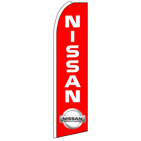 Nissan - Advertising Feather Flag Banner - Inflataad