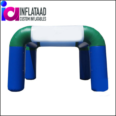 10Ft  Inflatable Blue & Green Tent - Inflataad
