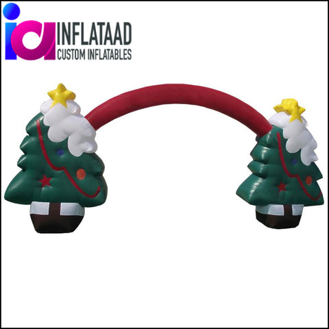 Inflatable Christmas Tree Arch - Inflataad