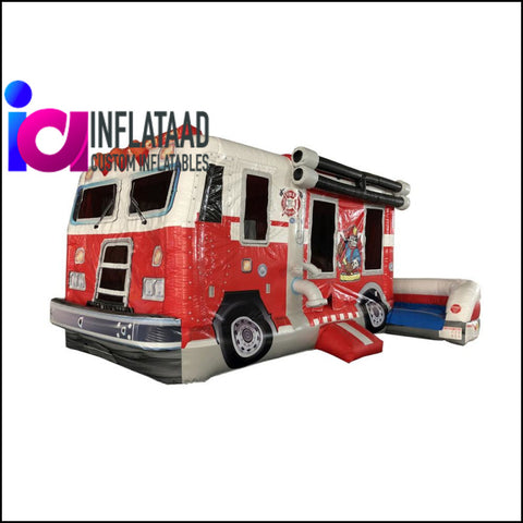 Fire Truck Inflatable Games