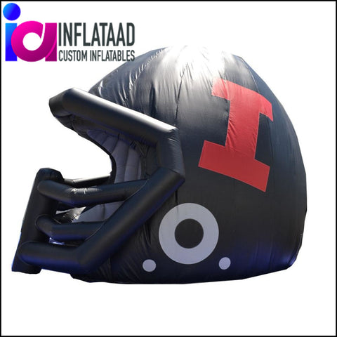 Inflatable Football Helmet Tunnel - Inflataad