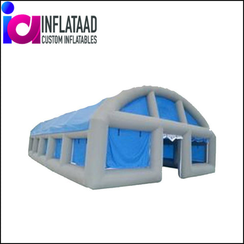 14Ft  Inflatable Gray & Blue Tent - Inflataad