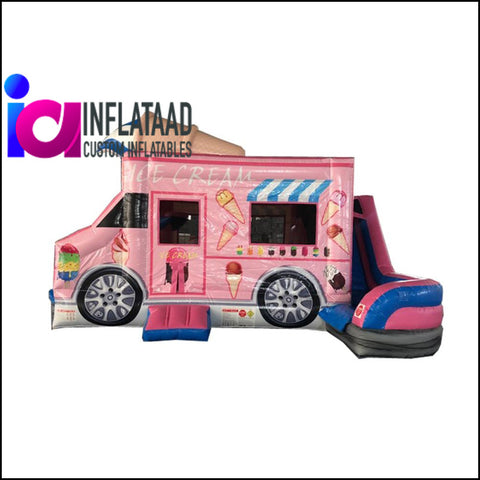 Ice Cream Truck Inflatable Games