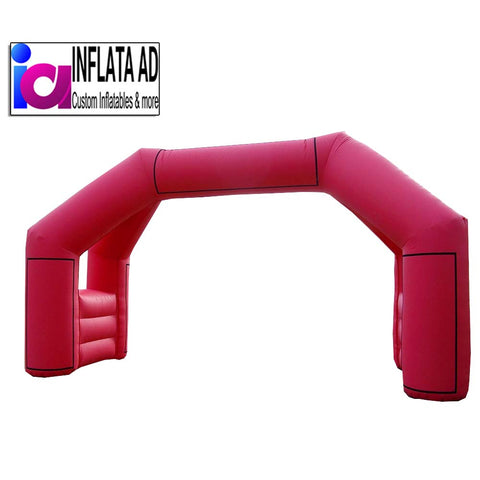 25Ft Inflatable Running Arch - Inflataad