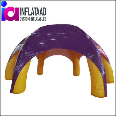 12Ft Inflatable Purple Tent - Inflataad