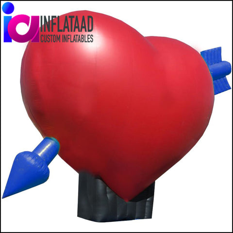 Inflatable  Heart (Red) - Inflataad