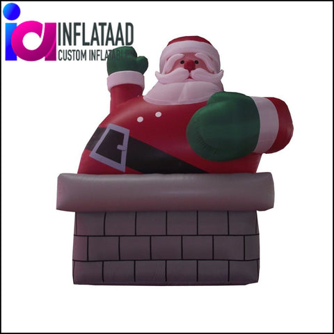 Inflatable Santa Claus - Inflataad