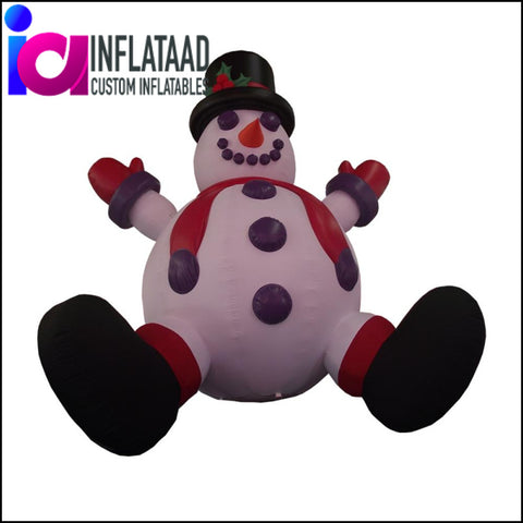 Inflatable Snowman Custom Inflatables