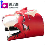 Inflatable Tiger Sports Tunnel Tunnels