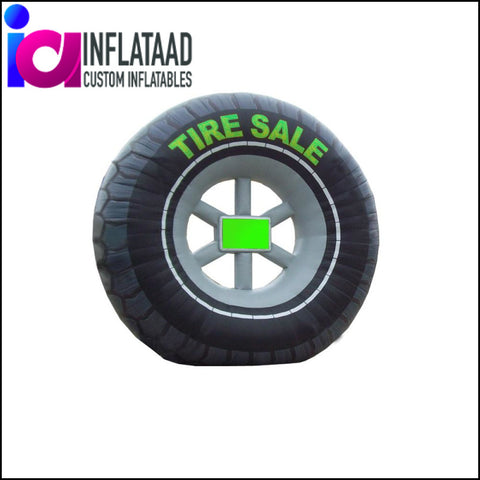 Inflatable Tire Replica - Inflataad
