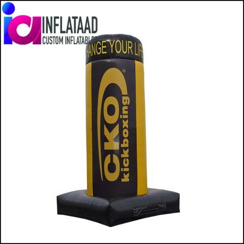 Inflatable Tube (Yellow & Black) Custom Inflatables