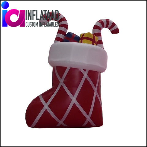 Inflatable Xmas sock with Gifts - Inflataad