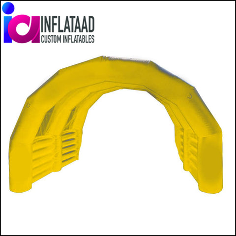 9Ft Inflatable  Yellow Tent - Inflataad