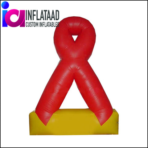 Inflatable  Logo AIDS - Inflataad