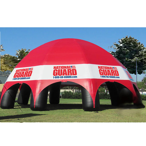 50 Ft Inflatable Spider Army Tent - Inflataad
