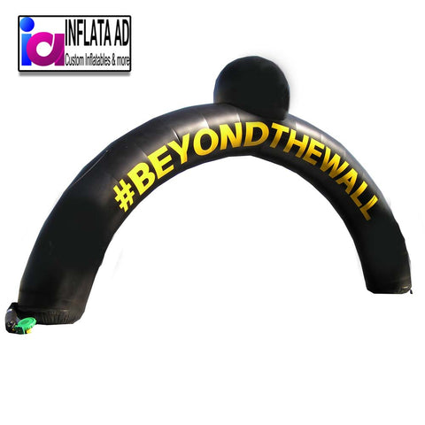 22ft Beyond the wall Arch - Inflataad