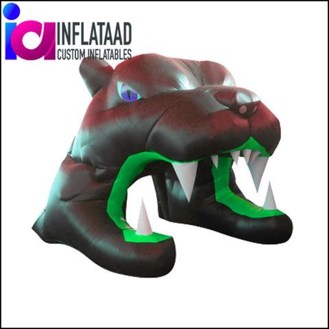 Black Inflatable Tiger Tunnels