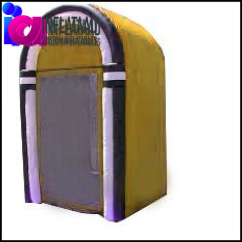 9 Ft Inflatable Cash Cube Custom Inflatables