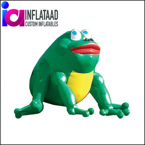 Inflatable Frog Custom Inflatables