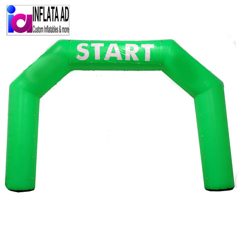 25Ft. Inflatable Arch (Green) - Inflataad