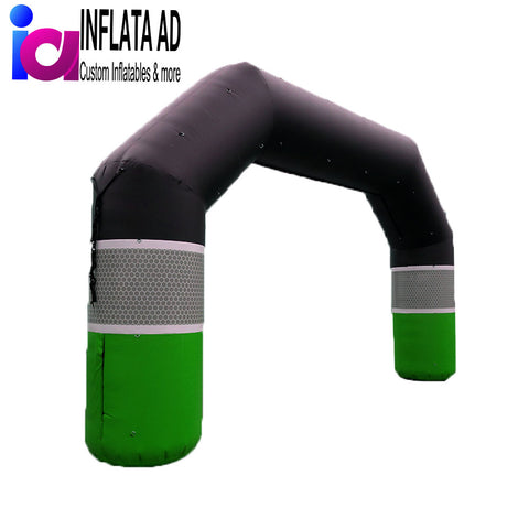 25Ft Inflatable Angle Arch - Inflataad