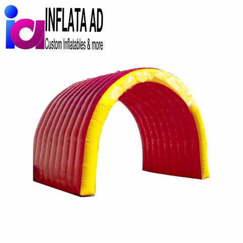 10ft Inflatable Tunnel Red/Yellow - Inflataad