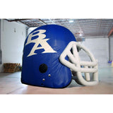 Inflatable Football Helmet Blue/white - Inflataad