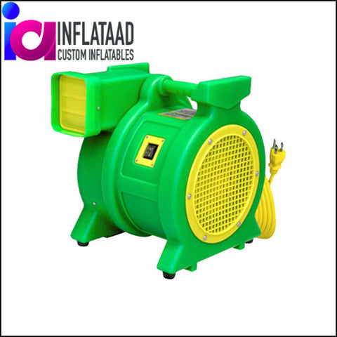 1HP KODIAK B-AIR MOTOR BLOWER / FAN FOR INFLATABLE SLIDE & MOONWALKS - Inflataad