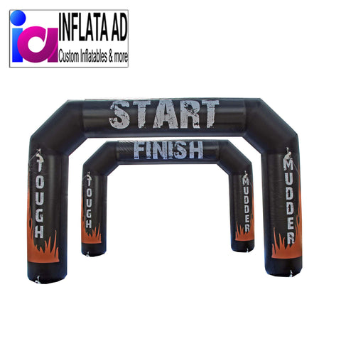 20FT Tough Mudder Inflatable Arch - Inflataad