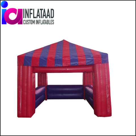 12Ft  Inflatable Red Tent - Inflataad