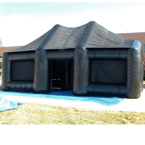 28FT Inflatable Black Tent - Inflataad