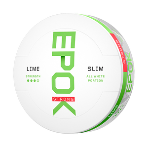 EPOK Lime Strong White Portion