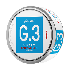General G.3 Slim White Mint Extra Strong Portion
