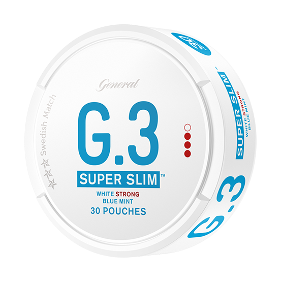 General G.3 Super Slim Mint Strong Portion