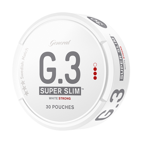 General G.3 Superslim Strong White Portion