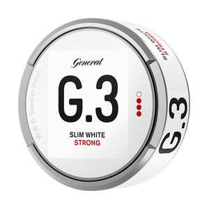 General G.3 White Slim Strong Portion