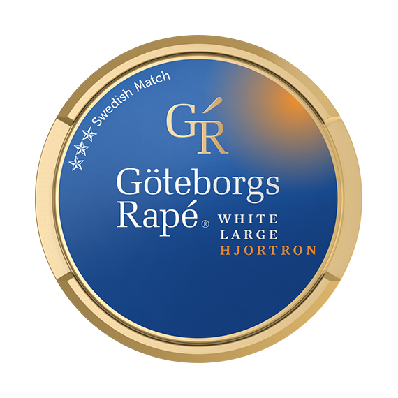 Göteborgs Rapé Hjortron White Portion