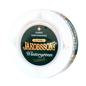 Jakobssons Wintergreen Strong Portion