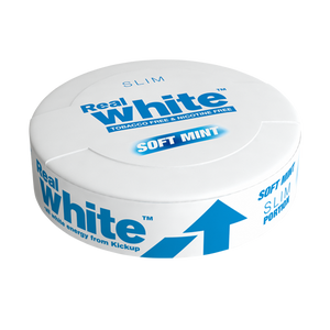 KickUp Real White Soft Mint Slim Nikotinfri