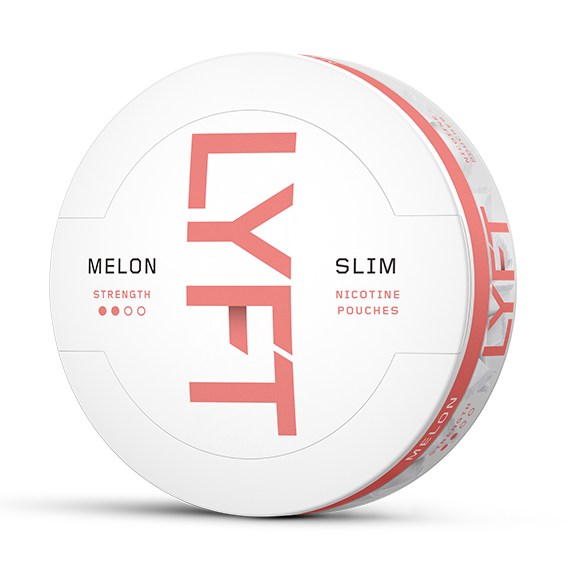 LYFT Melon Slim All White Portion