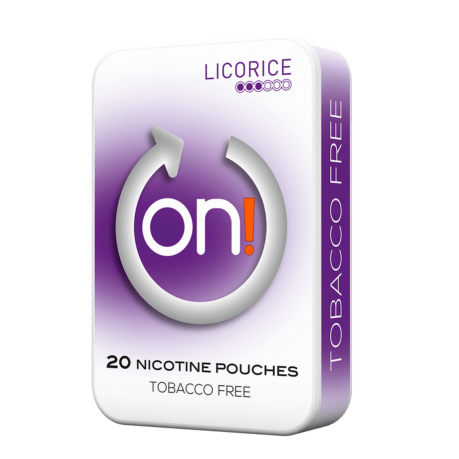 on! Licorice 3 mg