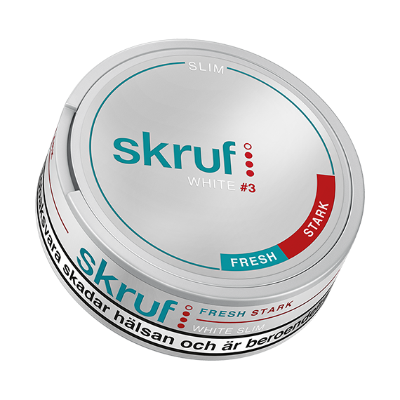 Skruf Slim Fresh Strong White Portion