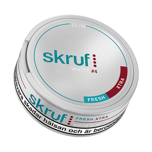 Skruf Slim Fresh Xtra Strong White Portionssnus