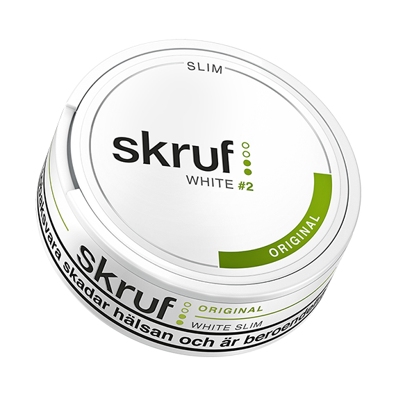 Skruf Slim Original White Portion