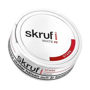Skruf Strong White Portionssnus