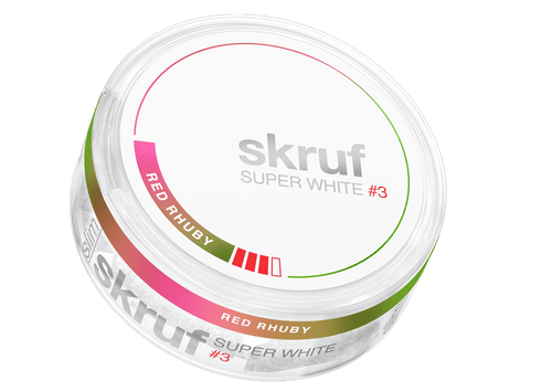 Skruf Super White Red Rhuby