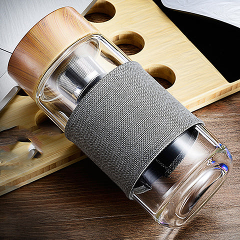 Tea Infuser Drink Bottle