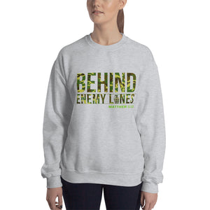 Behind Enemy Lines Camo Sweatshirt