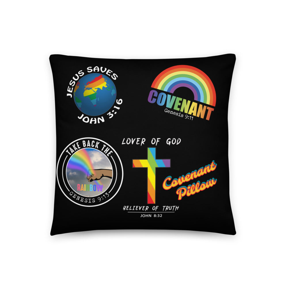 Prophetic Covenant Prayer Pillow