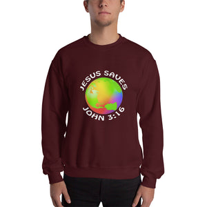 Jesus Saves Sweatshirt